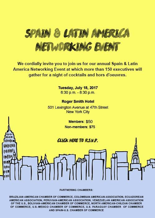 Spain Latin America Networking Event